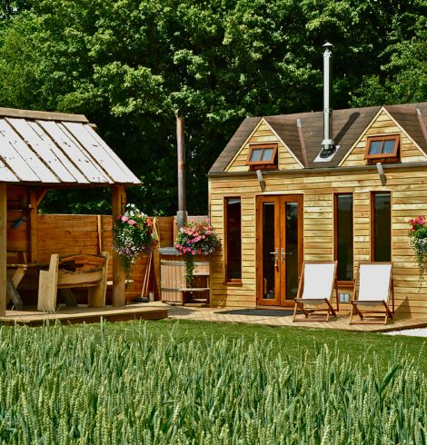 Tiny Wood Homes, Perfect for Glamping