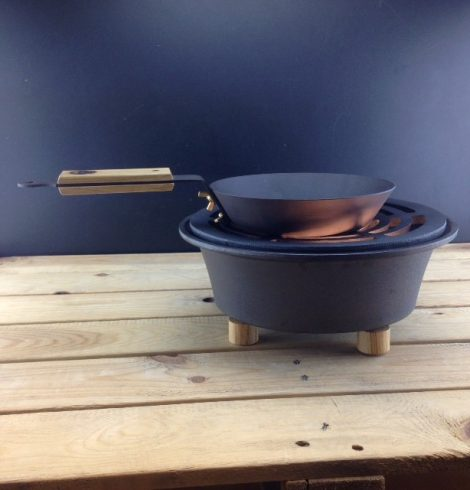 The Perfect Frying Pan to Take Glamping!