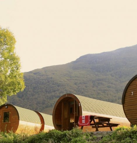 Blackwater Glamping Pods, Scottish Highlands