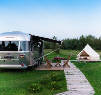 The first Airstream Park in Italy, 30 minutes from Venice