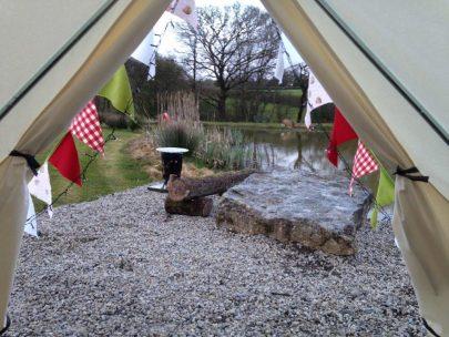 Appledore Park Bell Tent, Devon