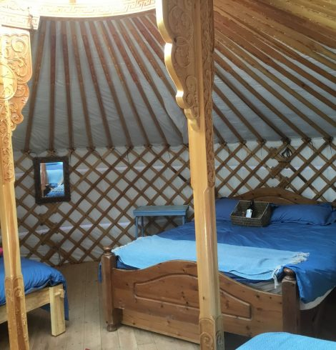 Real Glamping at the Fir Hill, Cornwall